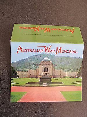 Vintage Colourscans Foldout Colour View Folder, Australian War Memorial ACT