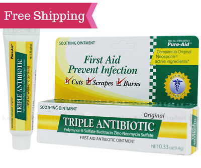 FIRST AID PREVENT Infection Triple Antibiotic Ointment Cuts