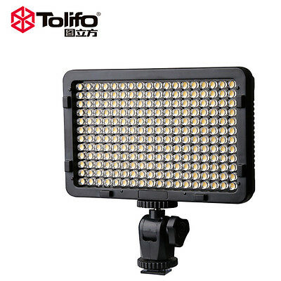 PT-176S TOLIFO 176 LED Ultra Bright Dimmable Photo Studio Photography  for DSLR