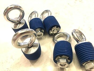 14-18 POLARIS RZR 1000 XP & 900 6 BED TIE DOWN ANCHORS  -Twist ride  Lock TURBO