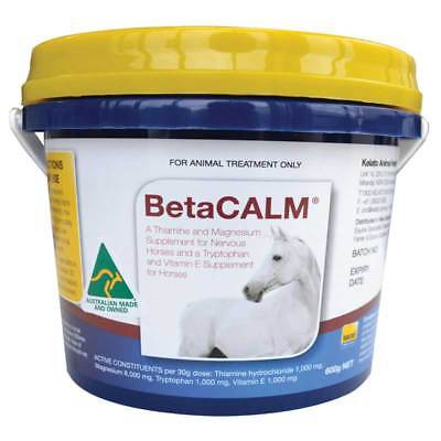 Kelato Betacalm Horse / Equine Supplement For Nervous & Anxious Horses 600g