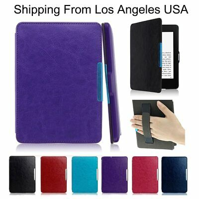 PU Leather Smart Shell Case Cover for Amazon Kindle Paperwhite1/2/3 NEW Case 6''