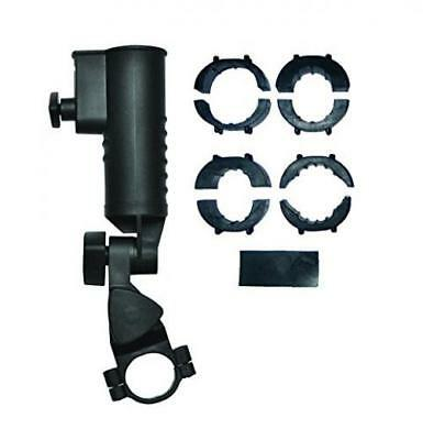 EZE Kaddy Umbrella Holder - Black 19,25,30,32 mm Clamps Included Heavy Duty