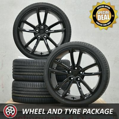 20 Inch V SERIES SS Holden Commodore Wheels and Tyres 225/35R20 VT VY VZ Black