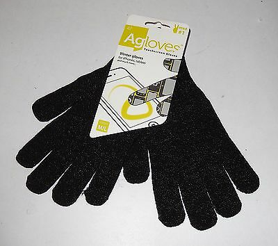 Agloves Sport touchscreen gloves, iPhone gloves texting gloves, Medium / Large