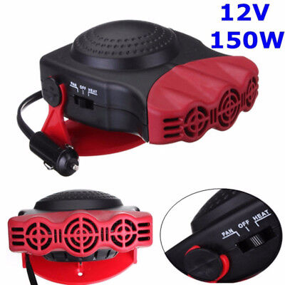 Hot 12V 150W Portable Car Heating Cooling Fan Heater Defroster Demister
