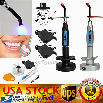 Dental 5W Wireless Cordless LED.B Curing Light Lamp 1500mw Dentist Instruments
