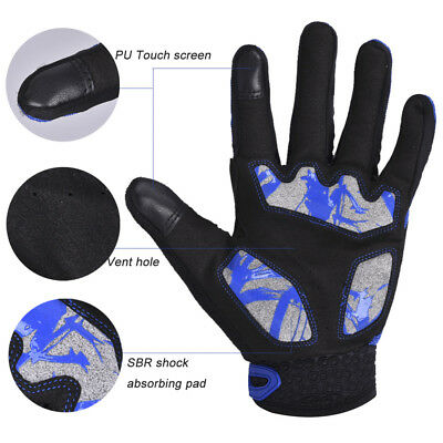 Sport Touchscreen Motorcycle Outdoor Gloves Bicycle Riding Racing Protective B-M
