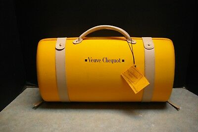 Original 'veuve Clicquot Traveller' Wine Champagne Carry Case With Tags