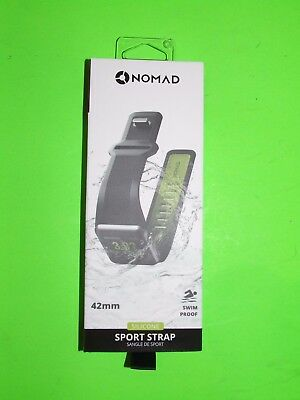 Genuine Nomad - Sports Strap for Apple Watch 42mm - SWIM PROOF !