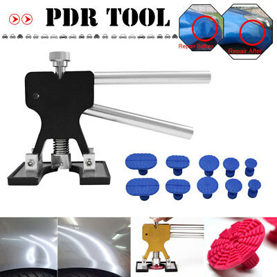 PDR Tools Black Dent Lifter 10XBlue Glue Tabs Paintless Hail Dent Removal Repair