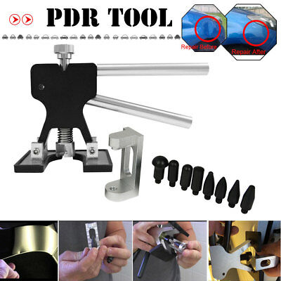 NEW PDR Tools Kit Black Dent Lifter Auto Paintless Dent Repair Hail Removal Tool