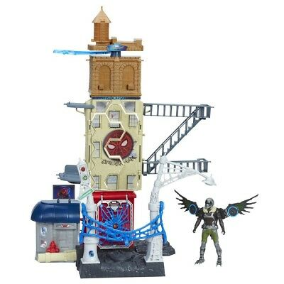 SPIDER-MAN B9692EU40 Home Coming Marvel's Vulture Attack Set. Free Delivery