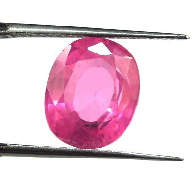 Awesome Looking 10.20  Ct Oval Cut Natural Cambodia Neon Pink Zircon Gemstone