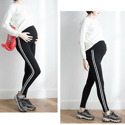 Overbumped Skinny Trousers Pants Tights Pregnancy Maternity Slim Comfy Cute