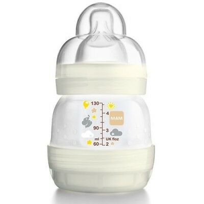 MAM Easy Start Self Sterilising Anti-Colic Bottle Slow Flow - 130 ml