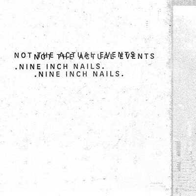 Nine Inch Nails Not The Actual Events Cd - New Release November 2017