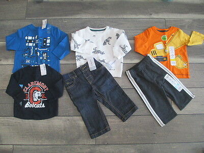 Huge 23 Piece Baby Boy Toddler Size 12 Months Fall Winter Clothing
