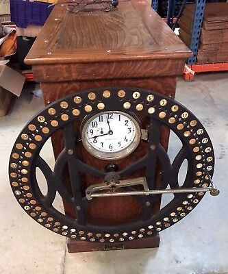 Vintage 1916 International Business Machine Corps Time Recording Machine Nice