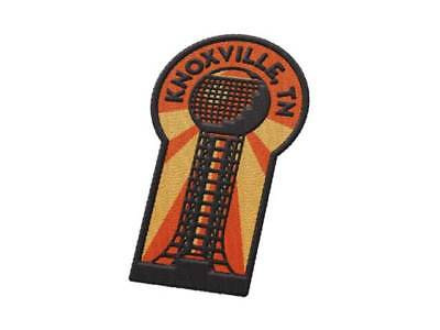 Knoxville Tennesse Iron On Travel Patch - Sunsphere