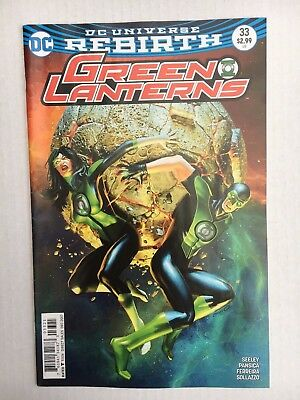 DC Comics: Green Lanterns #33 Variant Cover - BN - Bagged and Boarded