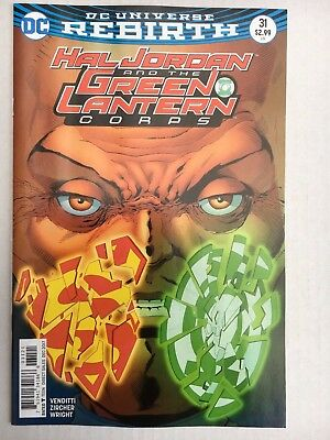 DC Comics: Hal Jordan and the Green Lantern Corps #31 - BN - Bagged and Boarded