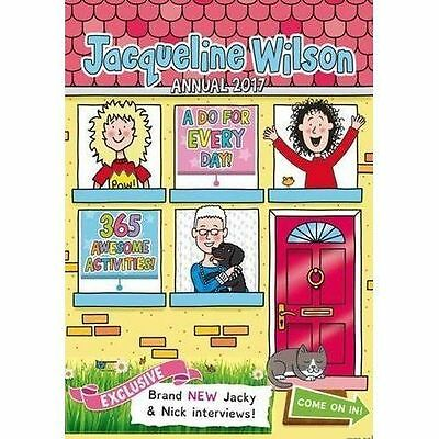 New Jacqueline Wilson Annual 2017: 365 Awesome Activities! [Hardcover] [Jul 12,