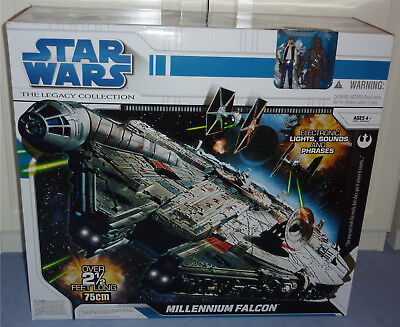 Star Wars 2008 Millennium Falcon Misb Legacy Collection Selten Top Zustand