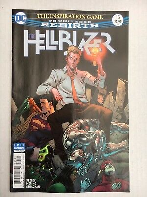 DC Comics:  The Hellblazer #15 (2017) - BN - Bagged and Boarded