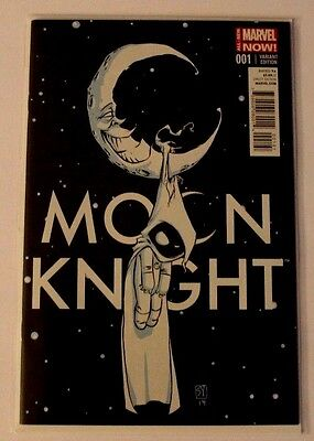 Moon Knight #1 Skottie Young Baby Variant Cover 2014 NM-