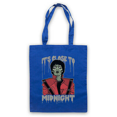 Michael Thriller Unofficial Jackson Zombie Illustration Tote Bag Life Shopper