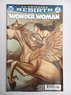 DC Comics: Wonder Woman Variant Cover #33 (2017) - BN - Bagged and Boarded