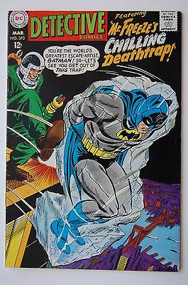 DETECTIVE COMICS #373 (1968) 2nd App. Mr. Freeze 1st Time Name Is Used! (VG/FN)