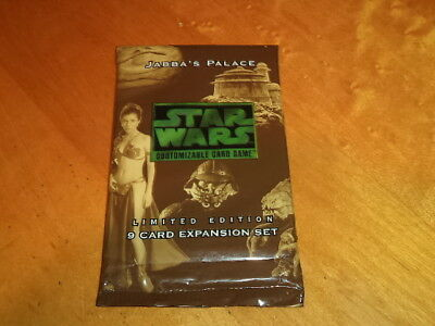 Decipher Star Wars CCG Jabba's Palace Expansion Booster Pack New!