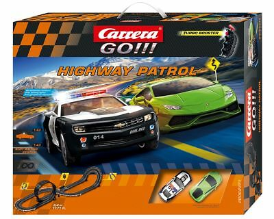 SALE Carrera Go Highway Patrol Slot Car Set NKT