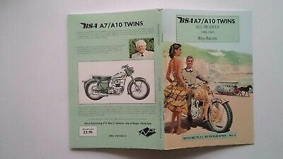 REDUCED! Roy Bacon Monograph No.4 BSA A7 / A10 Twins All Models 1946-1963
