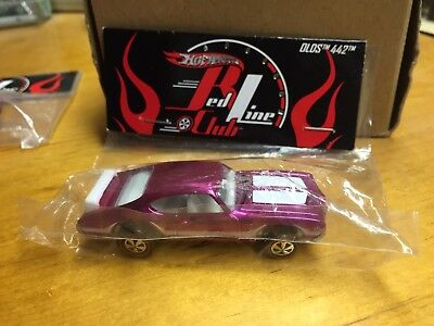 2011 Hot Wheels OLDS 442 PINK RLC Party 25th Annual LAX Convention BAG