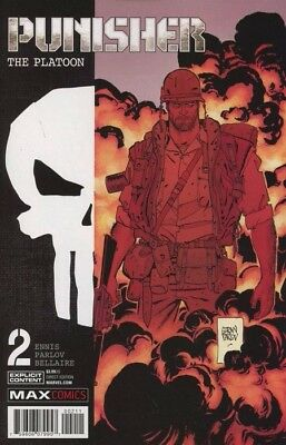 Punisher: Platoon #2 N/NM REGULAR COVER PUBLISHED BY MARVEL COMICS FIRST PRINT!!