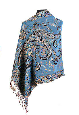 Look Effect Pashmina Animal Print Paisley Design Scarf Shawl Wrap