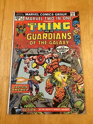 MARVEL TWO-IN-ONE # 5, Second Appearance of The Guardians of the Galaxy