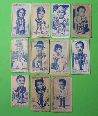 Cigarette Card Carreras Ltd Turf Cigarettes Famous Film Stars 1949 Mix Con 117