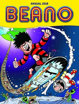 Beano Annual 2018 Hardback Yearbook book BRAND NEW BESTSELLER Children Kids Gift