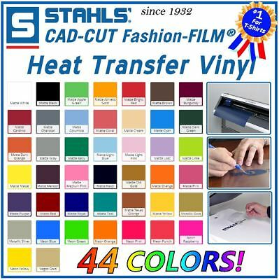 Stahls Mix & Match Easy Weed Iron-On Heat Transfer Vinyl for T-Shirt Cricut HTV