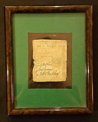 April 1772 18 Pence Note Pennsylvania Colonial Currency *Oldest Year on eBay!