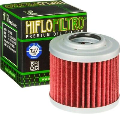 Motorcycle Oil Filter Hiflo Filtro / HF151