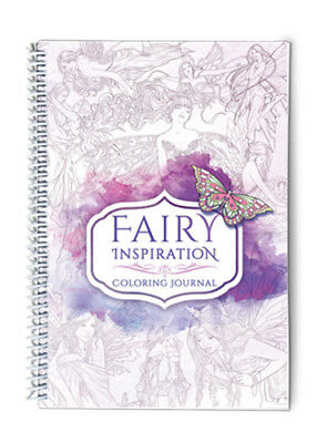 Colouring Journal – Fairy Inspiration by Selina Fenech