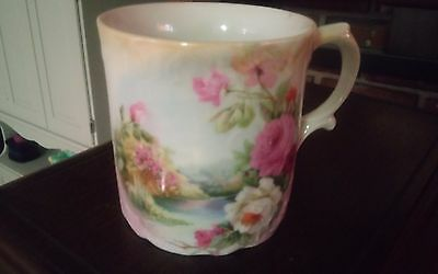 Beautiful floral antique cup mug made in germany