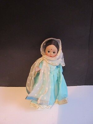 "Vtg Madame Alexander INDIA Doll 8"" INTERNATIONAL Restrung"