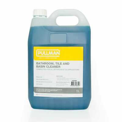 NEW Pullman Bath, Tile and Basin Cleaner 5L W