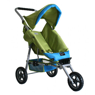 NEW Valco Baby Mini Marathon Doll Stroller - Lime / Aqua